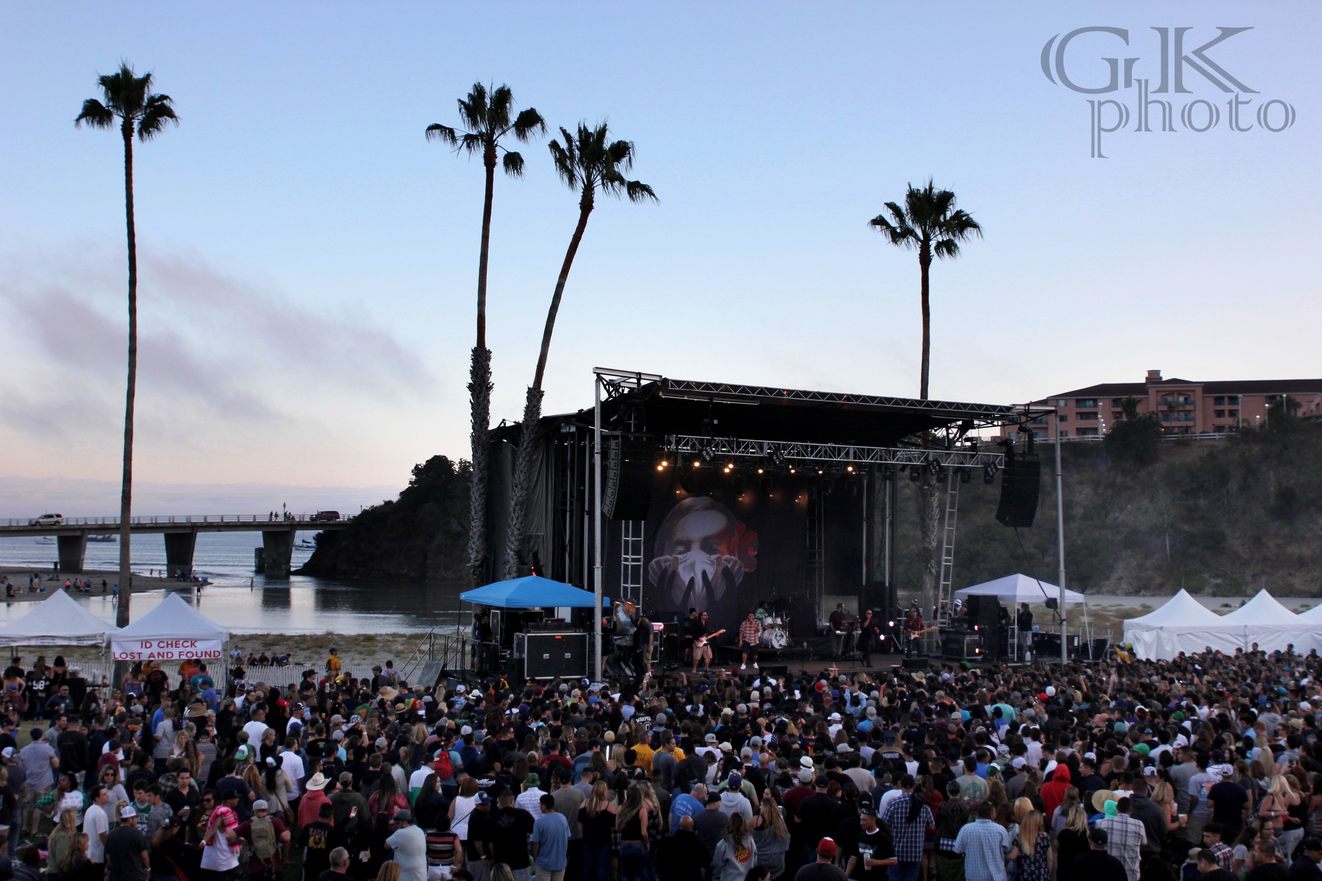 Avila Beach Is A Perfect Backdrop For The Venue, Concerts In The Cove.