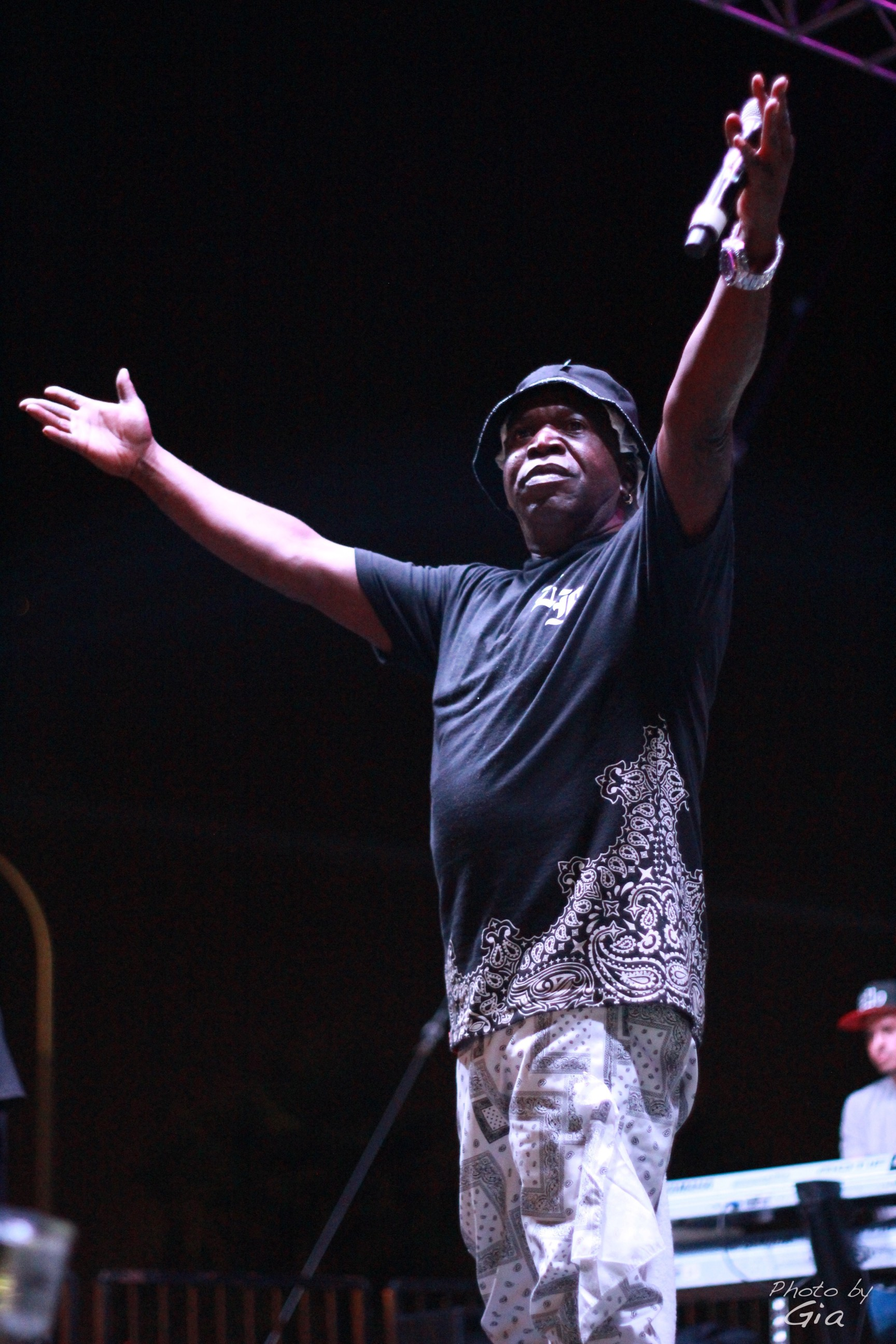 Barrington Levy Was A Force On Stage.